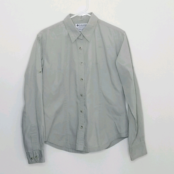 Columbia Lightweight Button Down Polo M